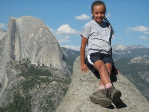 me in front of half dome