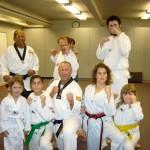 Tae-Kwon-Do class